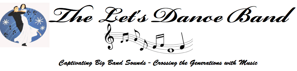 THE LETS DANCE BAND Logo